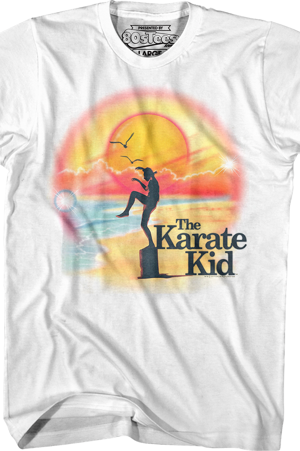 Airbrush Karate Kid T-Shirt