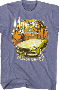 Karate Kid Miyagi Wax On Wax Off T-Shirt