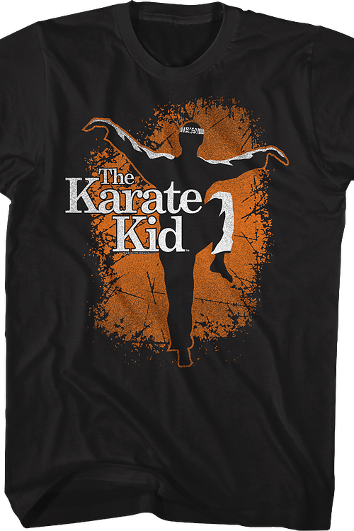 Silhouette Karate Kid T-Shirt