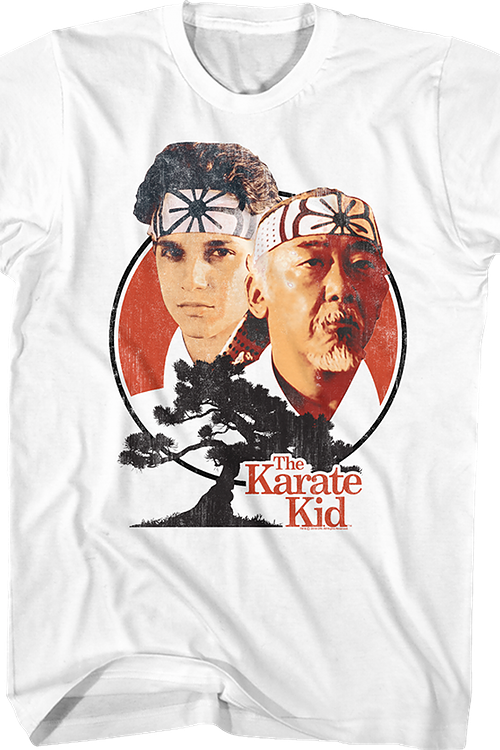 Daniel and Mr. Miyagi Karate Kid T-Shirt
