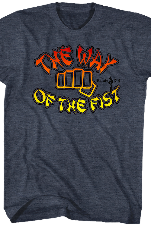 The Way of the Fist Karate Kid T-Shirt