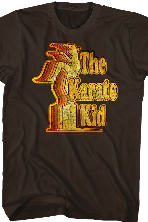 Crane Kick Pattern Karate Kid T-Shirt