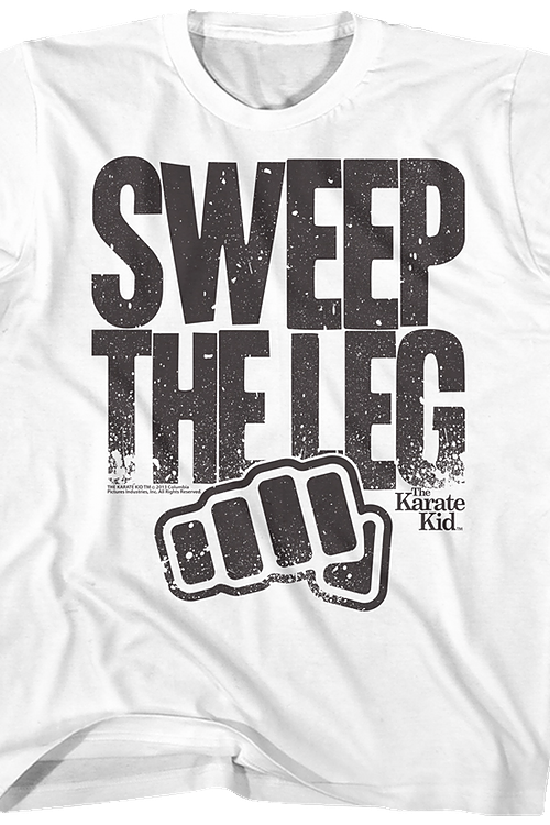 Youth Sweep The Leg Karate Kid Shirt