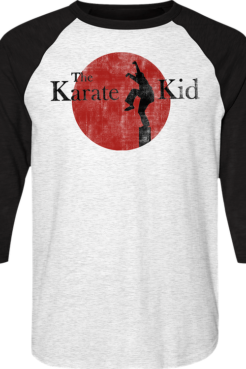 Karate Kid Raglan Baseball Shirt