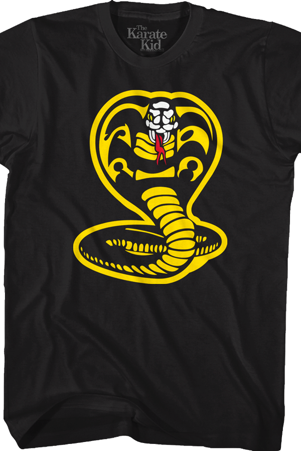 Cobra Kai Logo Karate Kid T-Shirt