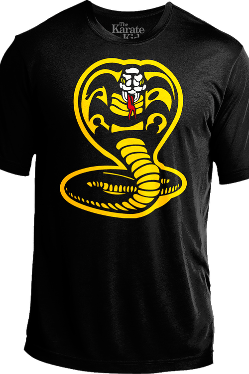 Cobra Kai Logo Karate Kid Performance Shirt