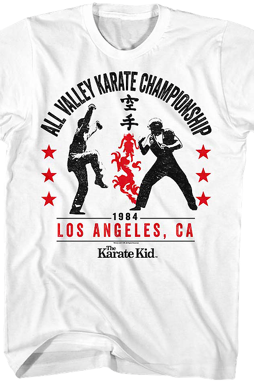 All Valley Championship Karate Kid T-Shirt