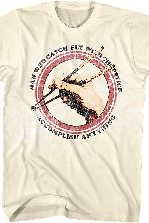 Catch Fly With Chopstick Karate Kid T-Shirt