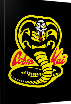 Karate Kid Cobra Kai Canvas Wall Art
