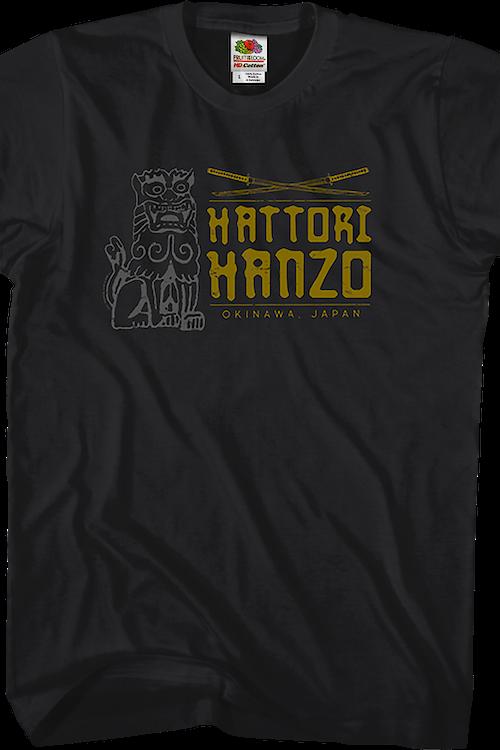 6d567193 Hattori Hanzo Swords Kill Bill T-Shirt: Kill Bill Mens T-Shirt