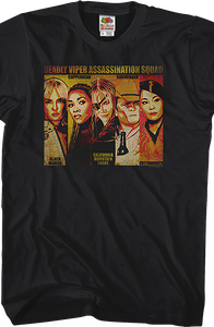 Deadly Viper Assassination Squad Kill Bill T-Shirt