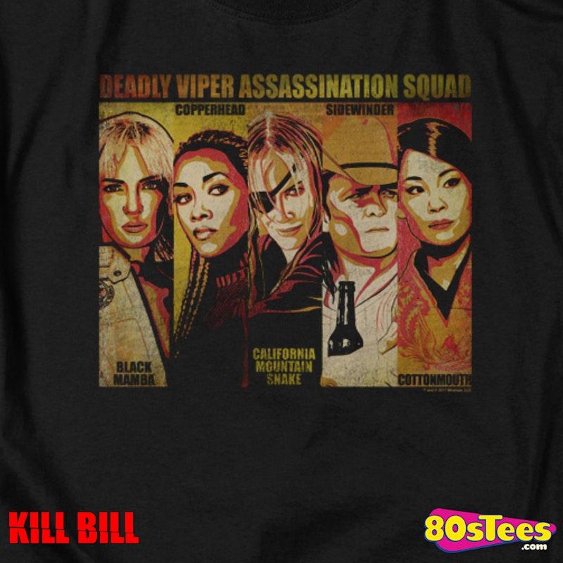 147966ae8a Deadly Viper Assassination Squad Kill Bill T-Shirt