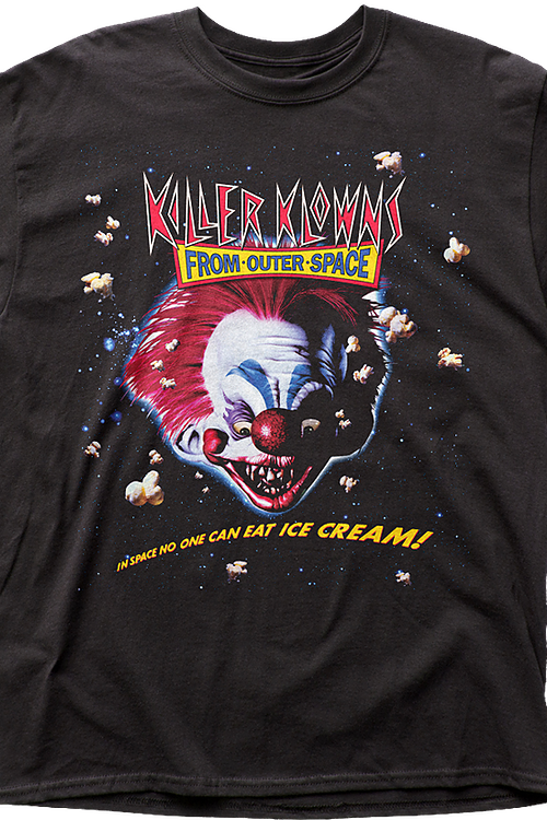 Movie Tagline Killer Klowns From Outer Space T-Shirt