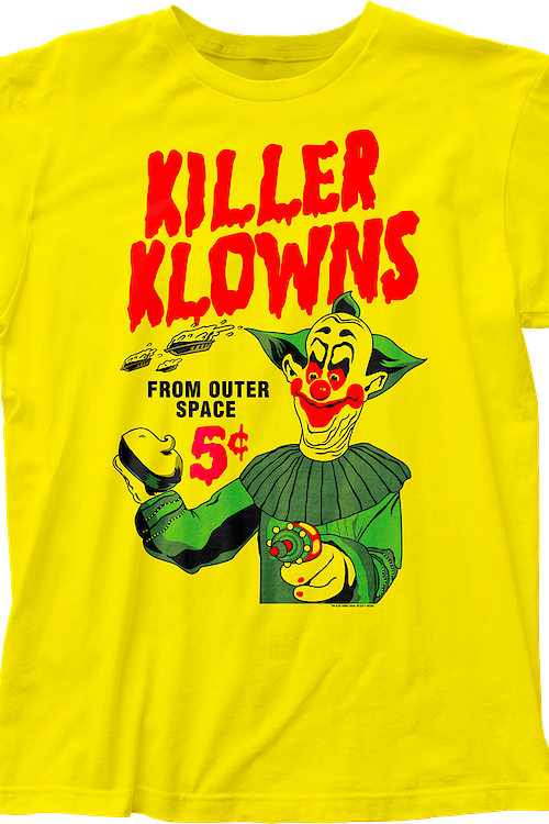 Acid Pies Killer Klowns From Outer Space T-Shirt