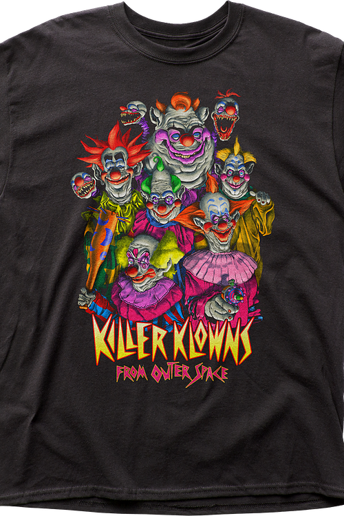 Killer Klowns From Outer Space Group T-Shirt