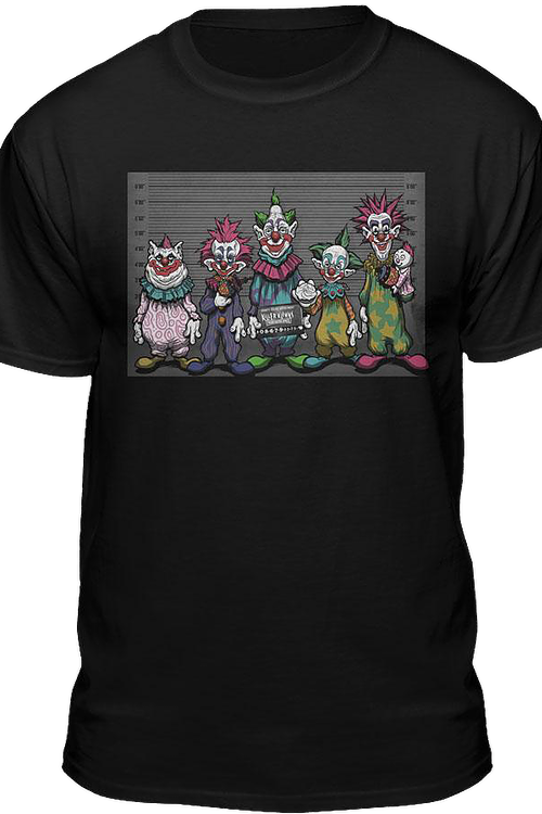 Lineup Killer Klowns From Outer Space T-Shirt
