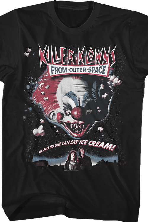 Movie Poster Killer Klowns From Outer Space T-Shirt