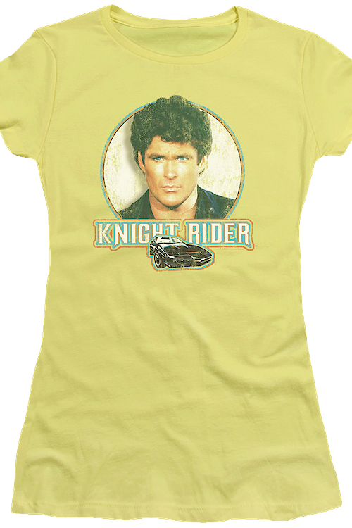 Junior Distressed Knight Rider Shirt