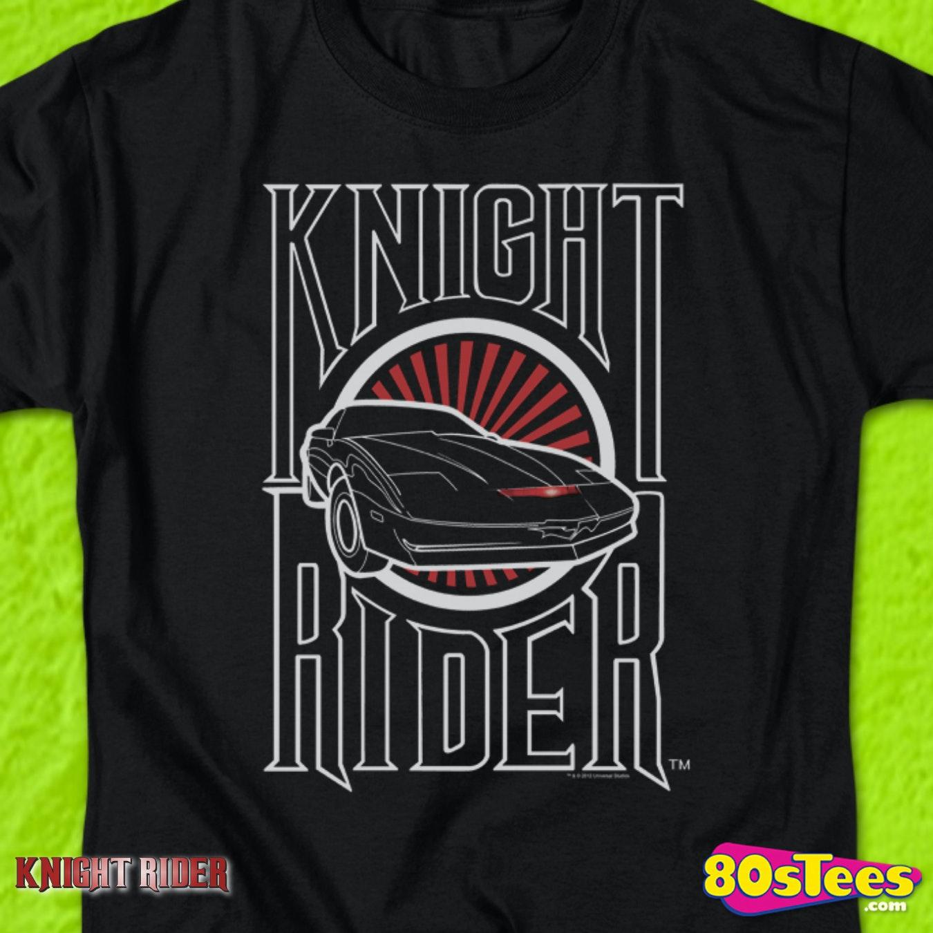 knight industries Knight-rider 80s TV show T-shirt