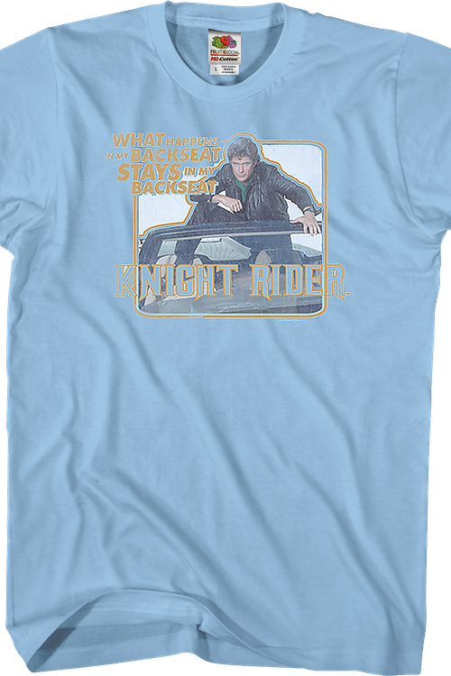 Backseat Knight Rider T-Shirt