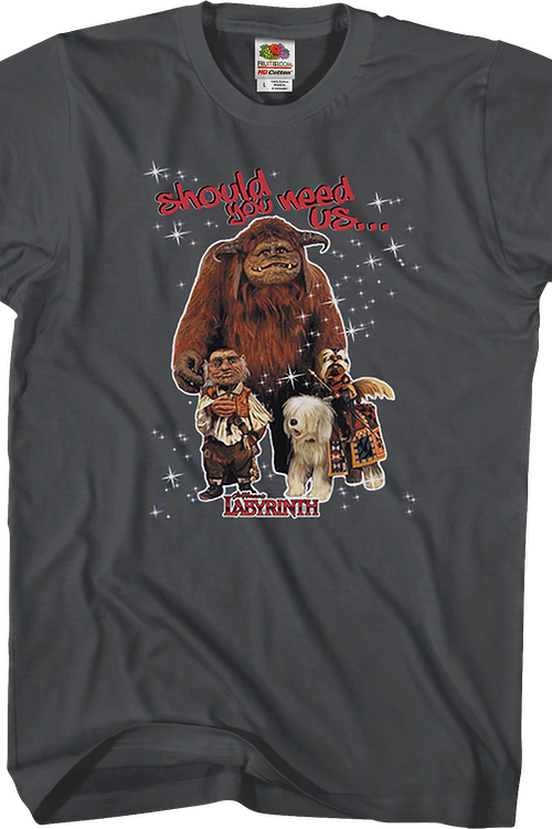 Should You Need Us Labyrinth T-Shirt