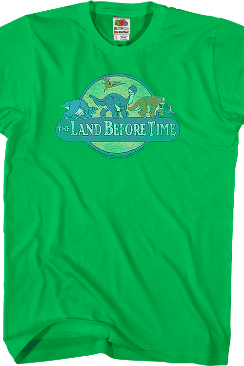 Retro Logo Land Before Time T-Shirt