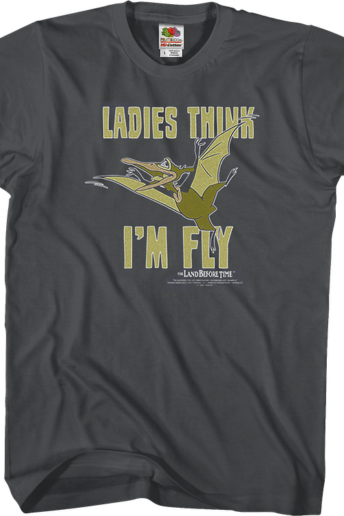Ladies Think I'm Fly Land Before Time T-Shirt