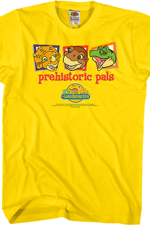 Prehistoric Pals Land Before Time T-Shirt