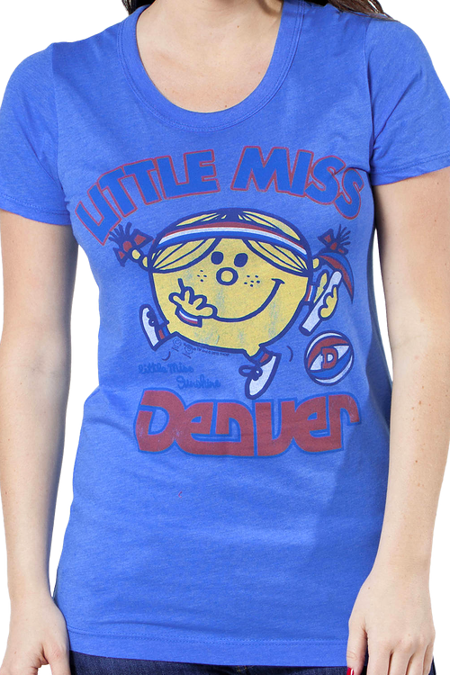 Little Miss Denver Nuggets Shirt By Junk Food