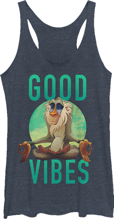 Ladies Lion King Good Vibes Tank Top
