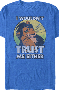 Lion King Scar Trust Me T-Shirt