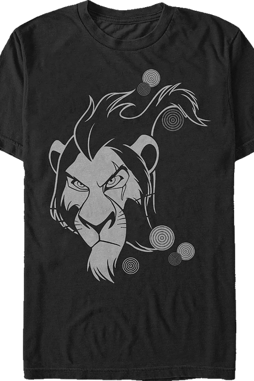Lion King Scar Tribal T-Shirt