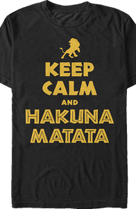 Lion King Keep Calm T-Shirt
