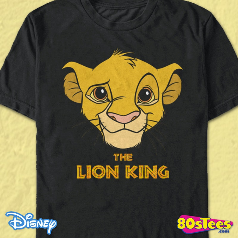 5aaa07bb Lion King Simba Cub T-Shirt