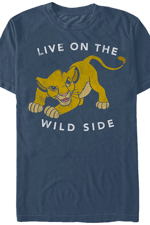 Live on the Wild Side Lion King T-Shirt
