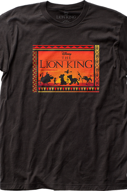 Silhouettes Lion King T-Shirt