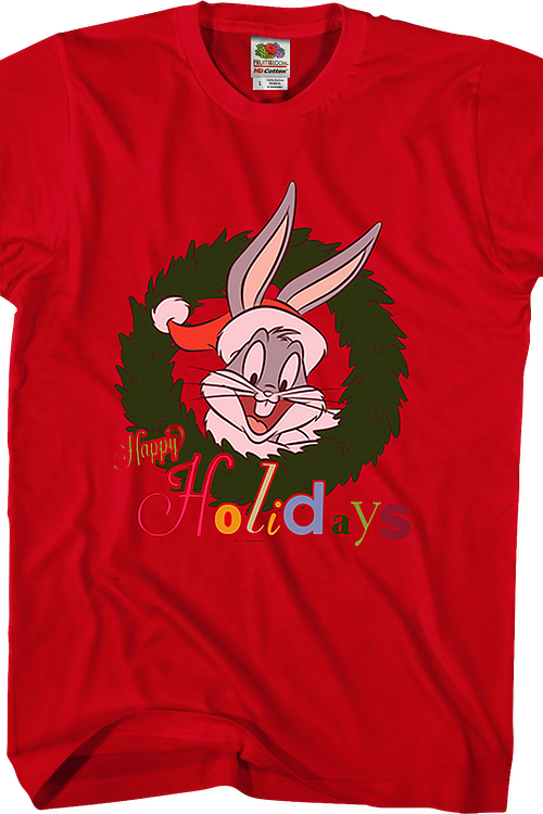 Looney Tunes Christmas Bugs Bunny T-Shirt