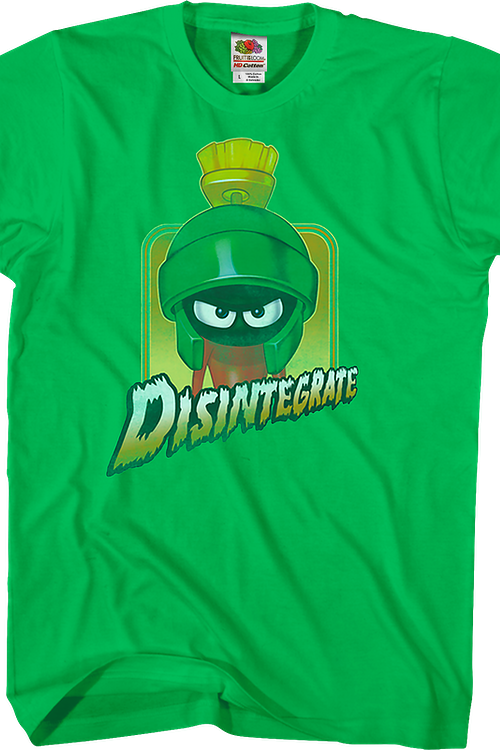 Disintegrate Marvin The Martian Looney Tunes T-Shirt