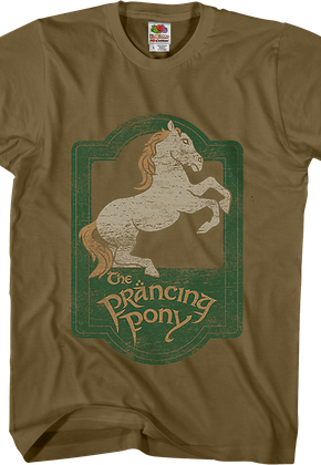 Prancing Pony Lord of the Rings T-Shirt