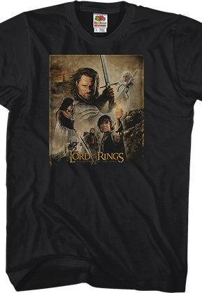 Return of the King Lord of the Rings T-Shirt