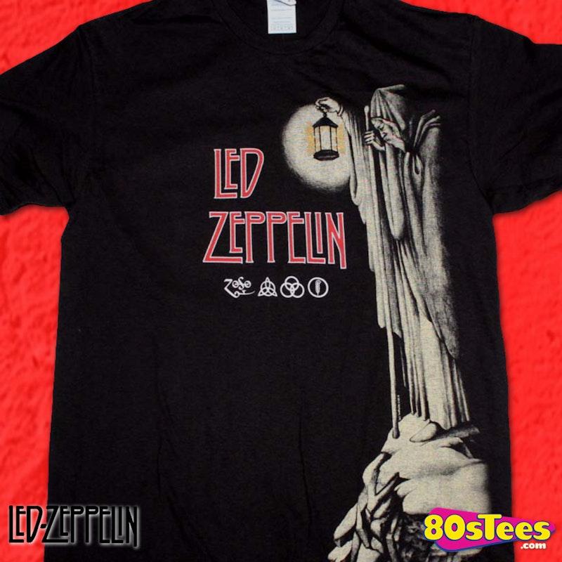 Symbols Led Zeppelin T Shirt Led Zeppelin Mens T Shirt