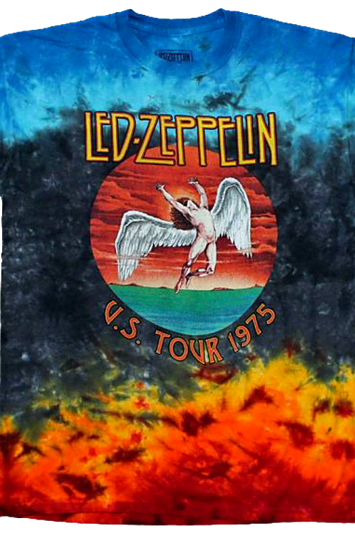 Tie Dyed Led Zeppelin T-Shirt