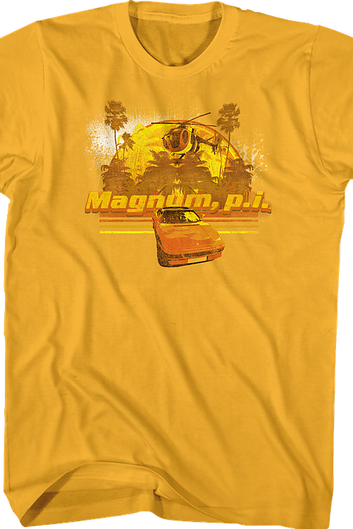 Transportation Magnum P.I. T-Shirt