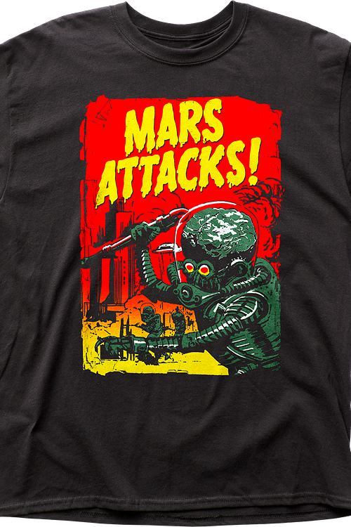 Distressed Mars Attacks T-Shirt