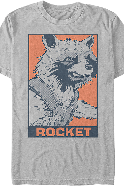 Rocket Raccoon Pop Art Avengers Endgame T-Shirt