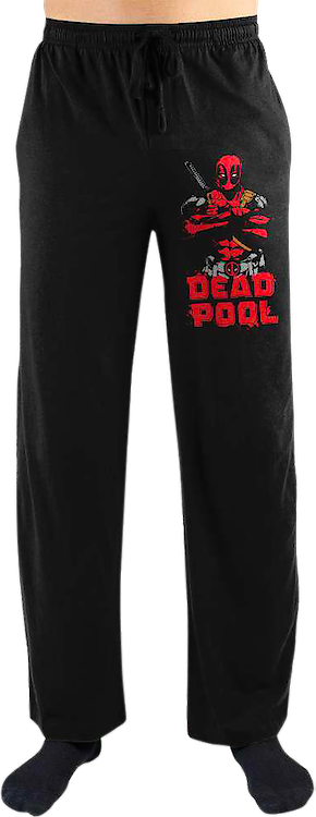 Deadpool Marvel Comics Lounge Pants