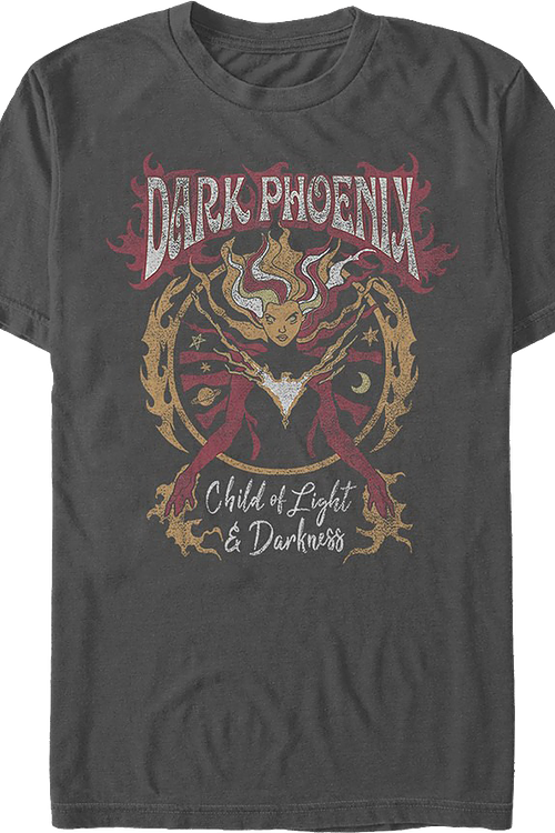 Dark Phoenix Child of Light and Darkness Marvel Comics T-Shirt