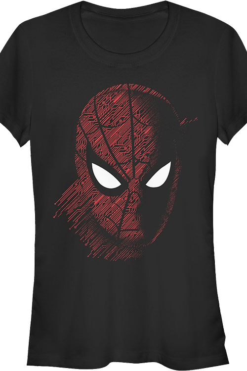 Junior Tech Portrait Spider-Man Shirt