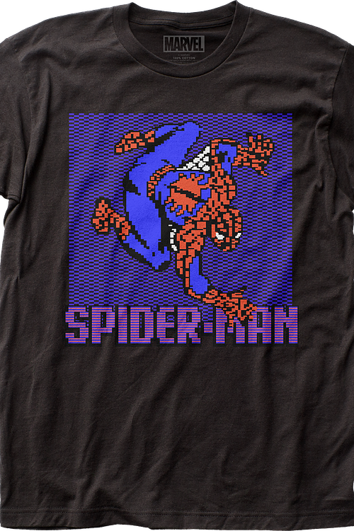 8-Bit Spider-Man T-Shirt
