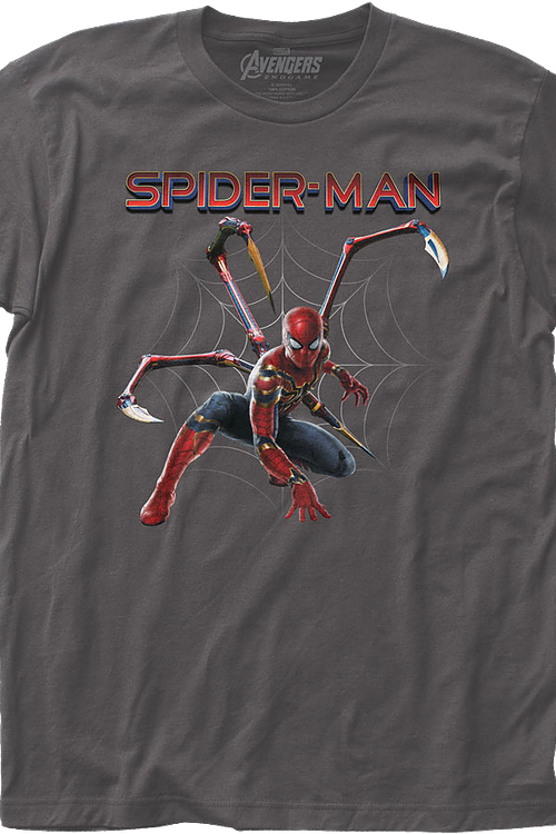Iron Spider Avengers Endgame Spider-Man T-Shirt